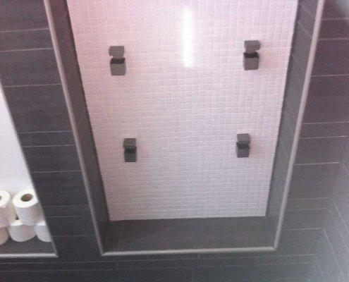 herstel van badkamer installatie