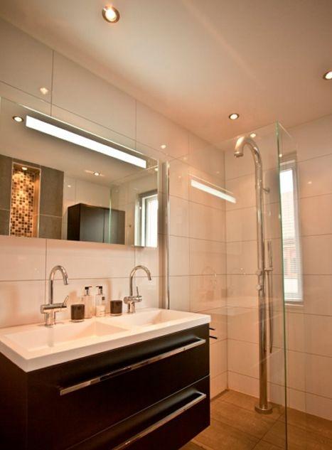 nieuwe badkamer installatie