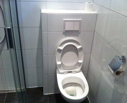 toilet laten installeren