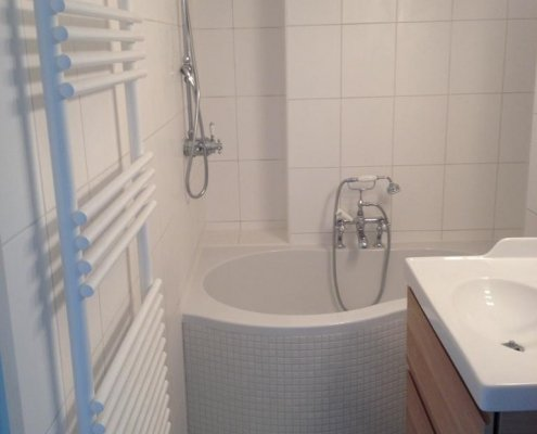 Renovation of bathroom and shower