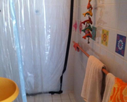 douche voor renovatie