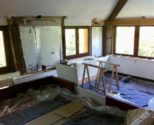 complete attic renovation