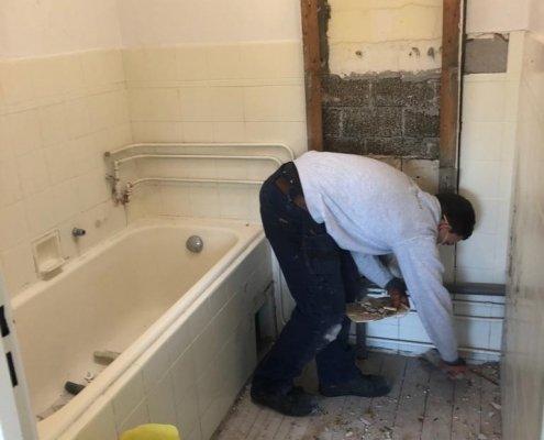 klusbedrijf delft renovatie badkamer